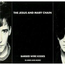 THE JESUS AND MARY CHAIN - BARBER WIRE KISSES - LP 1988 - EXCELLENT+