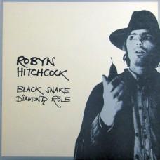 ROBYN HITCHCOCK - BLACK SNAKE DIAMOND ROLE - LP UK 1985 - EXCELLENT