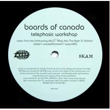 """BOARDS OF CANADA - TELEPHASIC WORKSHOP - 10"""" 1998 UK - PROMO - NEAR MINT"""