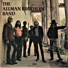 ALLMAN BROTHERS BAND - THE ALLMAN BROTHERS BAND LP UK 1969 - EXCELLENT