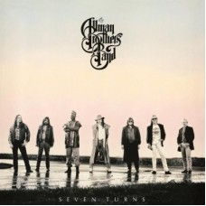 ALLMAN BROTHERS BAND - SEVEN TURNS LP 1990 - EXCELLENT