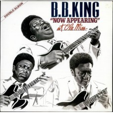 B.B. KING - B.B. KING NOW APPEARING AT OLE MISS - LP UK 1980 - EXCELLENT+