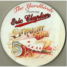 YARDBIRDS FEAT. ERIC CLAPTON - STRAIGHT FIVE - CD 1994 - LIMITED - NEAR MINT