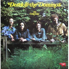 DEREK & THE DOMINOS - IN CONCERT - LP UK 1973 - NEAR MINT