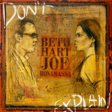 BETH HART & JOE BONAMASSA - DON'T EXPLAIN - LP 2011 - MINT