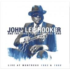 JOHN LEE HOOKER - LIVE AT MONTREUX 1983 & 1990 - LP 2020 - MINT