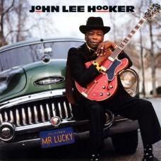JOHN LEE HOOKER - MR LUCKY - LP 1991 - NEAR MINT