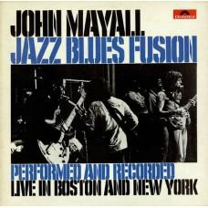 JOHN MAYALL - JAZZ BLUES FUSION - LP 1972 - EXCELLENT+