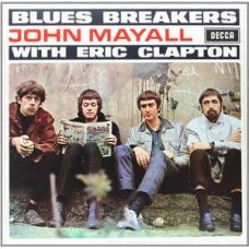 JOHN MAYALL WITH ERIC CLAPTON - BLUES BREAKERS - LP UK 1971 - STEREO - NEAR MINT