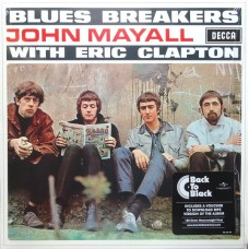JOHN MAYALL WITH ERIC CLAPTON - BLUES BREAKERS - LP 180g 2016 - MINT