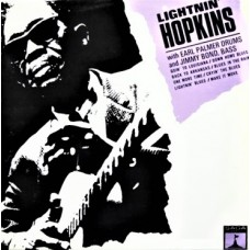 LIGHTNIN' HOPKINS - LIGHTNIN' HOPKINS - LP UK 1966 - EXCELLENT