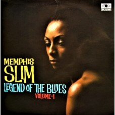 MEMPHIS SLIM - LEGEND OF THE BLUES VOLUME 1 - LP UK 1966 - EXCELLENT