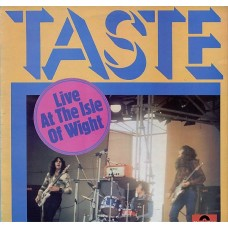 TASTE - LIVE AT THE ISLE OF WIGHT - LP UK 1971 - EXCELLENT+
