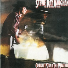 STEVIE RAY VAUGHAN AND DOUBLE TROUBLE - COULDN'T STAND THE WEATHER - LP 1984 - EXCELLENT