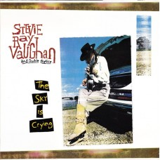 STEVIE RAY VAUGHAN AND DOUBLE TROUBLE - THE SKY IS CRYING - LP 1991 - ORIGINAL - RARE - EXCELLENT++