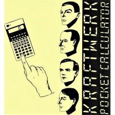 """KRAFTWERK - POCKET CALCULATOR - 7"""" UK 1981 - EXCELLENT+"""