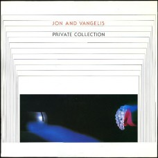 JON AND VANGELIS - PRIVATE COLLECTION - LP UK 1983 - EXCELLENT+