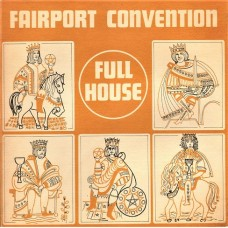 FAIRPORT CONVENTION - FULL HOUSE - LP UK 1970 - NEAR MINT