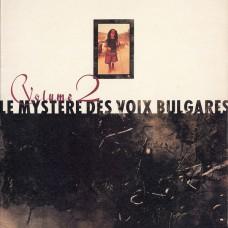 LE MYSTERE DES VOIX BULGARES - VOLUME 2 - LP 1988 - NEAR MINT