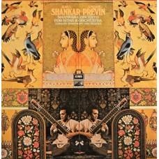 RAVI SHANKAR / ANDRE PREVIN - CONCERTO FOR SITAR & ORCHESTRA - LP UK - EXCELLENT+