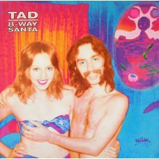 TAD - 8-WAY SANTA - LP 1991 - LIMITED ON YELLOW VINYL - EXCELLENT+