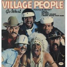 VILLAGE PEOPLE - GO WEST - LP UK 1979 - NEAR MINT