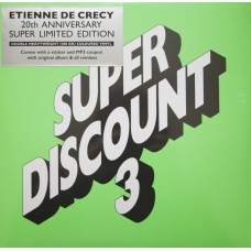 ETIENNE DE CRECY - SUPER DISCOUNT 3 - LP - RECORD STORE DAY 2016 - MINT