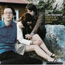 KINGS OF CONVENIENCE - QUITE IS THE NEW LOUD - LP UK 2001 - NEAR MINT