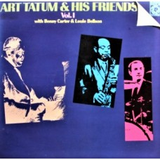 ART TATUM - ART TATUM & HIS FRIENDS VOL. 1 - LP UK - EXCELLENT+