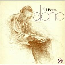 BILL EVANS - ALONE - LP UK 1970 - EXCELLENT