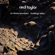 CECIL TAYLOR - AIR ABOVE MOUNTAINS - LP GER - EXCELLENT