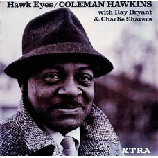 COLEMAN HAWKINS - HAWK EYES - LP UK 1967 - EXCELLENT