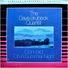 DAVE BRUBECK QUARTET - CONCORD ON A SUMMER NIGHT - LP 180g 1992  - LIMITED AUDIOPHILE EDITION - NEAR MINT