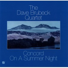 DAVE BRUBECK QUARTET - CONCORD ON A SUMMER NIGHT - LP USA 1982 - EXCELLENT++