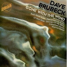 DAVE BRUBECK - GONE WITH THE WIND - LP UK 1975 - EXCELLENT+
