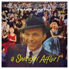 FRANK SINATRA - A SWINGIN' AFFAIR! - LP UK 1984 - NEAR MINT