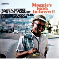 HOWARD McGHEE - MAGGIE'S BACK IN TOWN!! - LP EXCELLENT
