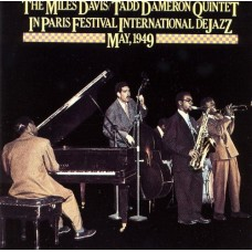 MILES DAVIS / TADD DAMERON QUINTET- IN PARIS FESTIVAL INTERNATIONAL DE JAZZ MAY 1949 - LP UK 1977 - EXCELLENT+