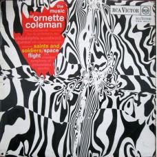 ORNETTE COLEMAN - THE MUSIC OF ORNETTE COLEMAN - LP UK 1968 - EXCELLENT