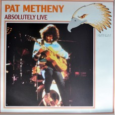 PAT METHENY - ABSOLUTELY LIVE - LP UK 1988 - EXCELLENT+