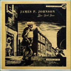 JAMES P. JOHNSON - NEW YORK JAZZ - LP USA 1963 - RED VINYL - EXCELLENT