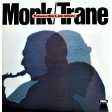 THELONIOUS MONK & JOHN COLTRANE  - MONK / TRANE - LP 1981 - NEAR MINT
