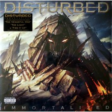DISTURBED - IMMORTALIZED - LP 2015 - NEAR MINT