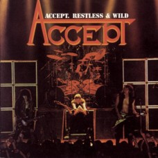 ACCEPT - RESTLESS & WILD - LP UK 1983 - LIMITED CLEAR VINYL - EXCELLENT