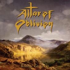 ALTAR OF OBLIVION - BARREN GROUNDS - EP 2017 - NEAR MINT