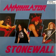 "ANNIHILATOR - STONEWALL - 12"" 1991 - EXCELLENT+"