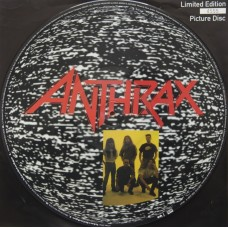 "ANTHRAX - BLACK LODGE - 12"" UK 1993 - PICTURE DISC - EXCELLENT++"