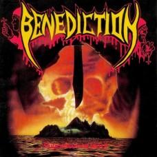 BENEDICTION - SUBCONSCIOUS TERROR - LP 1990 - ORIGINAL RARE - EXCELLENT