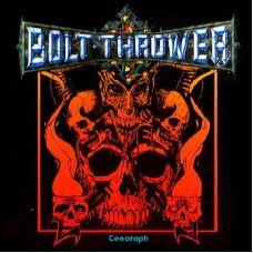 "BOLT THROWER - CENOTAPH - 12"" UK 1991 - RARE - NEAR MINT"