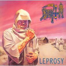 DEATH - LEPROSY - LP UK 1988 - ORIGINAL - RARE - VERY GOOD+